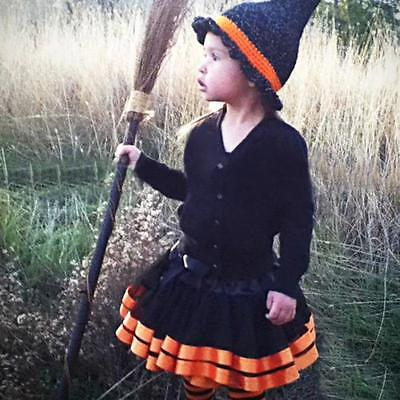 Halloween Toddler Baby Kids Girls Petticoat Pettiskirt Skirt Tutu Tulle Dresses