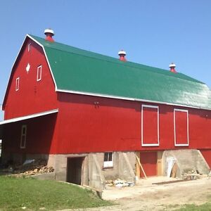 Barn Painting at it's Best - We are Farmers Too