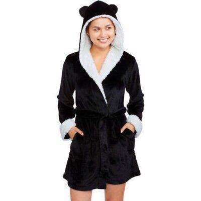 (Body Candy Junior Girls Huggable Luxe Critter Ears Sleepwear Robe Size M, L, XL)