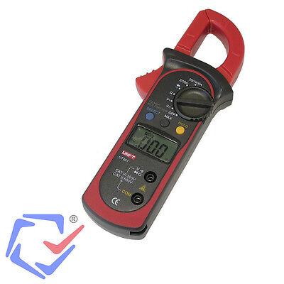 AC DC LCD Multimeter Voltmeter Messgerät Zangenstrommesser UNI-T UT-201 Messer