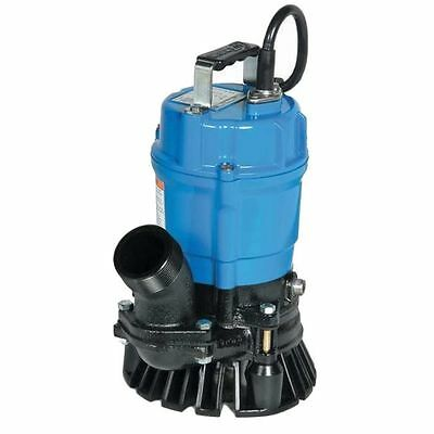 Tsurumi Submersible Trash Water Pump 3-inch Discharge 60 Gpm