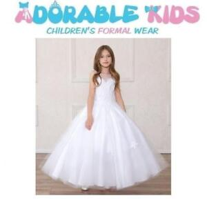 New Flower Girl Dresses, First Communion Dress, Boys Suits, Party Dresses