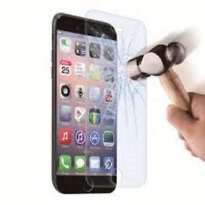 PROTECTEUR D`ECRAN EN VERRE TREMPÉ POUR IPHONE 5s,5C 6,6PLUS,7
