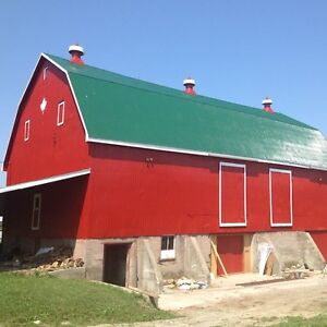 Barn Painting & Old Equipment Painting