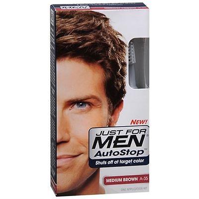 Just For Men Autostop Haircolor Medium Brown A 35 1 Each