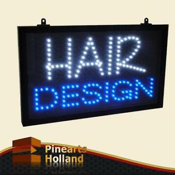 Led Sign Lichtbord Haarstudio Kapsalon reclame bord