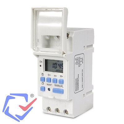 Programador eléctrico Temporizador digital semanal diario carril DIN Interruptor