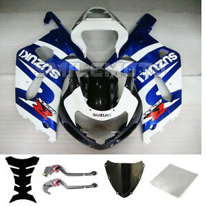 Bundle Injection Fairing Levers for Suzuki 2001 2002 2003 GSX-R 600 750 K1 xAA