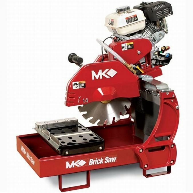 MK Diamond MK-2005H Gas Brick & Block Saw w/Honda GX160 Engine