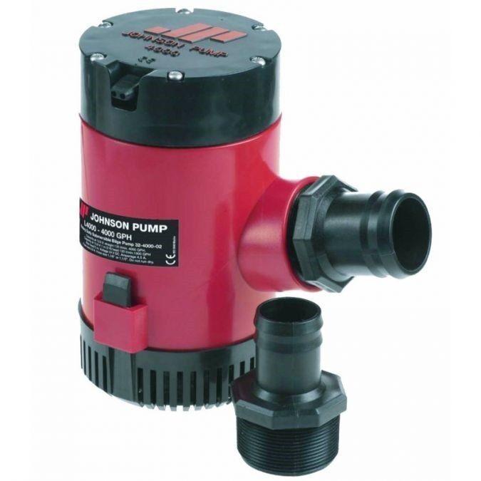 Tsurumi 12 Volt Submersible Water Pump 4000 GPH