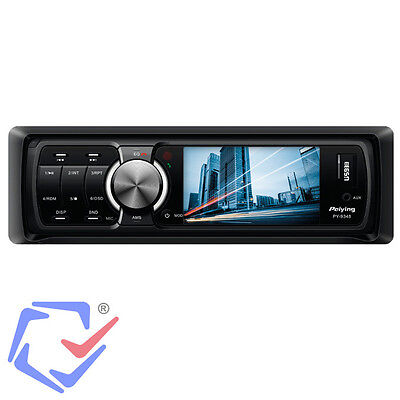 Autoradio Bluetooth USB SD AUX 4 x 40 W 1 DIN TFT Display MP3 MP4 Fernbedienung