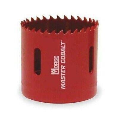 Morse Lot Of 2 - 37mm Master Cobalt Holesaw Av23 1-716 Wood Metal Plastic