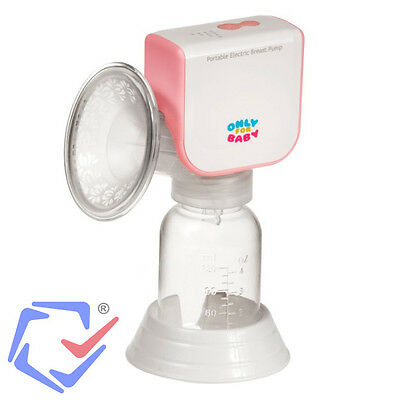 Einzelmilchpumpe Elektrische Milchpumpe Babyflasche 120ml Netzbetrieb