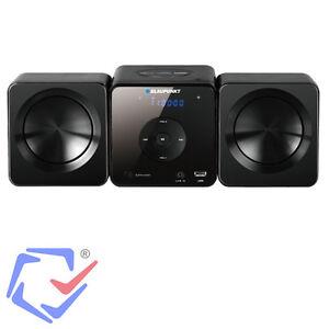 Mikroanlage Mini-Anlage CD MP3 USB LCD HiFi Stereoanlage Musikanlage Blaupunkt