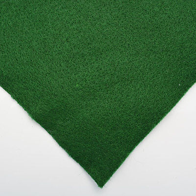 green felt for antique fans and lamp