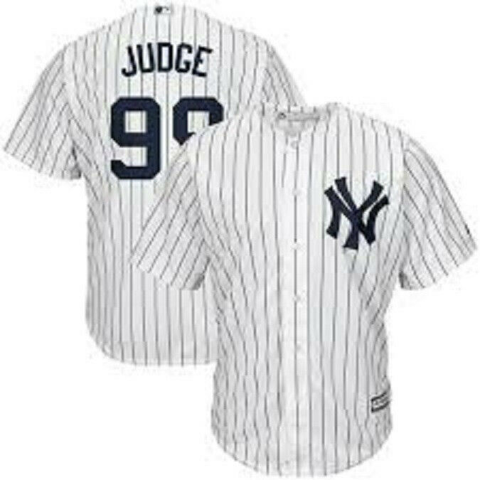 JUDGE camiseta de la MLB de los YANKEES color blanca.Talla L,3XL.