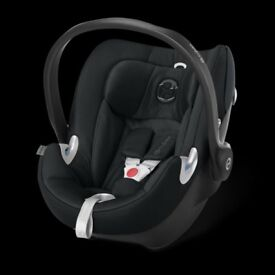 Cybex Aton Q platinum car seat with UNUSED isofix base