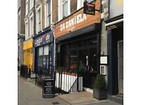 Italian Chef required for busy Maida Vale restaurant
