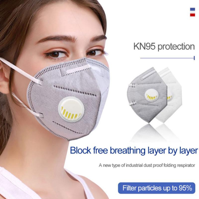 Atemschutz Maske Ventil FFP2 FFP3 N95 FFP1 Gesichtsmaske Mundschutz aus DE