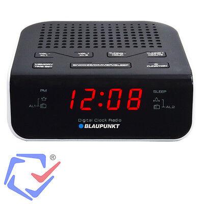 Radiowecker Uhrenradio Wecker LCD Display Dual-Alarm Dimmer-Funktion Radio