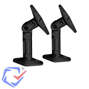 2 Stück Wandhalterung Deckenhalte für Lautsprecher Boxen Halter Wandhalter TOP