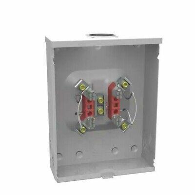 Milbank 200-amp 1 Gang Ringless Overheadunderground Meter Socket