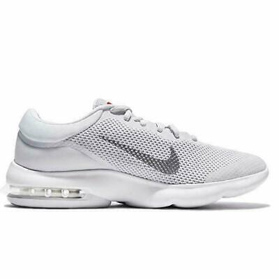 Nike Air Max Advantage Men's Running Shoes 908981 006 Pure Platinum White Grey ()