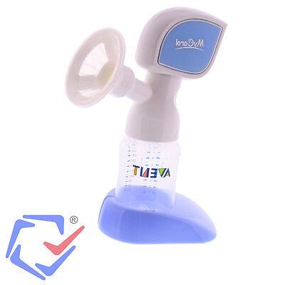 Einzelmilchpumpe Elektrische Milchpumpe Babyflasche 210ml Akku & Netzbetrieb