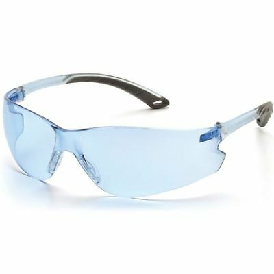 Pyramex Itek Safety Glasses Infinity Blue Lens