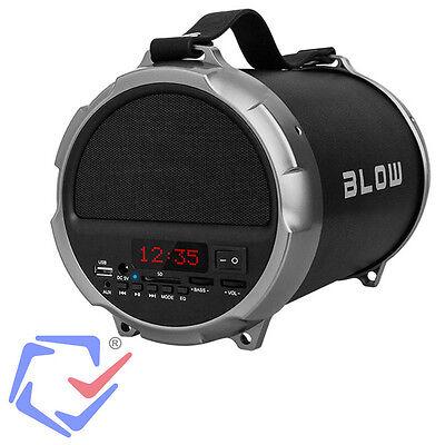 Tragbarer Bluetooth Lautsprecher USB SD Subwoffer Sound Box Speaker Blow BT1000