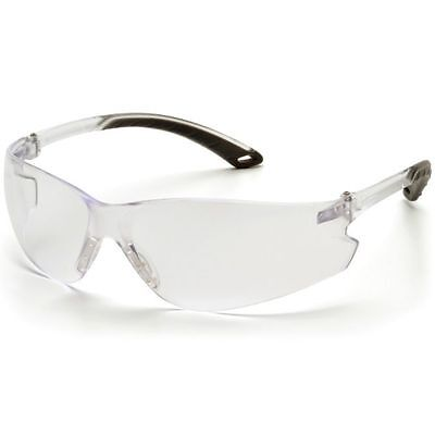 Pyramex Itek Safety Glasses Clear Anti-fog Lens