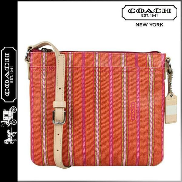 COACH LEGACY WEEKEND TICKING STRIPE SWING PACK