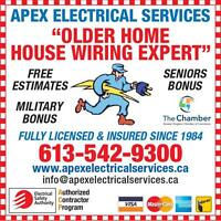 "Kingston Electrician  ""An Older Home House Wiring Expert"" !"