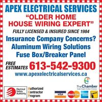Electrician / Electrical Contractor /Older Home's