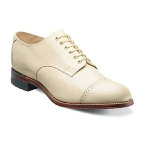 mens original biscuit toe shoes ivory leather