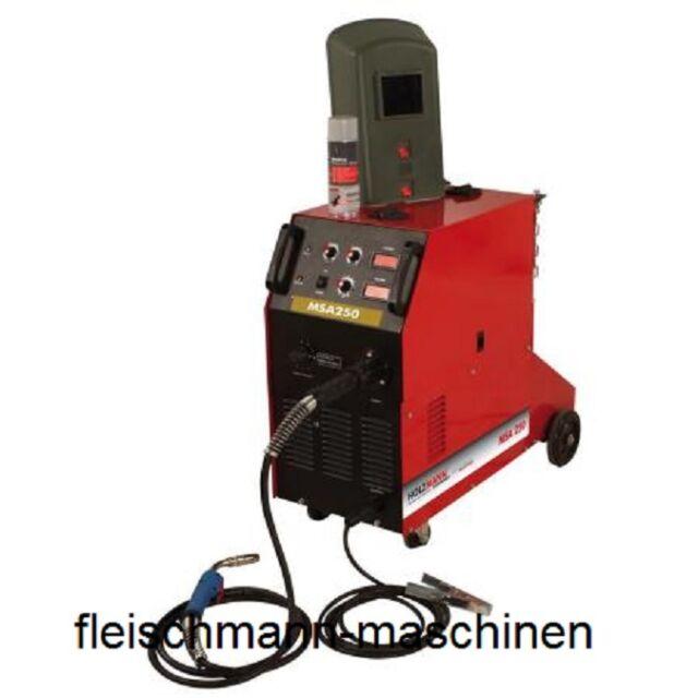 Holzmann Schutzgas Schweißgerät Schweissgerät MIG/MAG MSA250