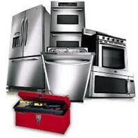 professional appliance repair&install(gas&electric) 647 949 2344