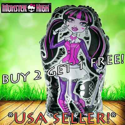 MONSTER HIGH Draculaura & Ghouls Balloon BIRTHDAY PARTY Super Shape Balloons - Monster High Partys