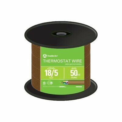 Cerrowire 18-5 Thermostat Wire 50 Feet