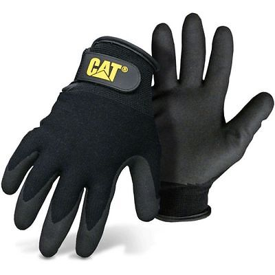 Caterpillar Cat Nitrile Coated Winter Work Gloves Large