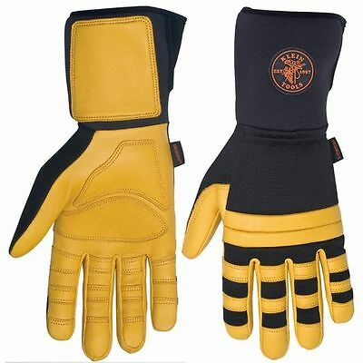 Klein Tool Lineman Work Gloves Large ()