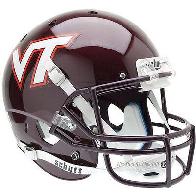 VIRGINIA TECH HOKIES SCHUTT XP FULL SIZE REPLICA FOOTBALL HELMET Virginia Tech Hokies Football