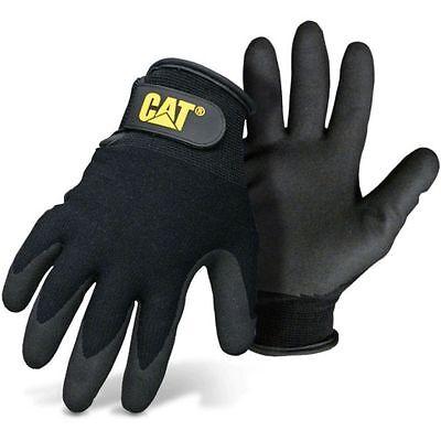 Caterpillar Cat Nitrile Coated Winter Work Gloves Medium