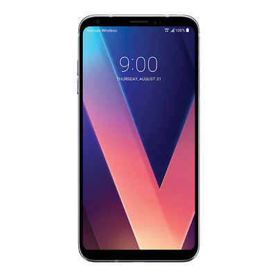 LG V30 VS996 V30 64GB Silver Verizon Wireless 4G LTE Smartphone