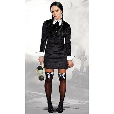Addams Family - Wednesday Addams - Adult Costume - Dreamgirls](Addams Family Costume)