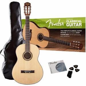 Ensemble de guitare classique FC-100 ( FC100 ) Fender 0950820021  *neuve