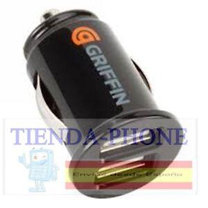 Cargador-Mechero-USB-Doble-GRIFFIN-para-Iphone-Color-Negro-iphone-5-6-7-plus