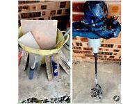 Plasters mixer & trowels bucket plasters hand board builders tools