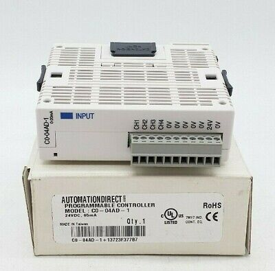 Automation Direct C0-04ad-1 Programmable Controller