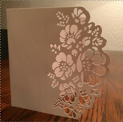 Blume Spitze Grenze Metall Stencil Cutting Dies Scrapbooking Stanzschablone DIY Blume Grenze